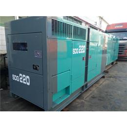 二手进口新款北越三菱150kw静音型柴油发电机组出售