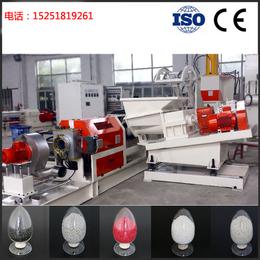 南京广塑GS-120 碳酸钙滑石粉云母粉橡胶促进剂母料造粒机