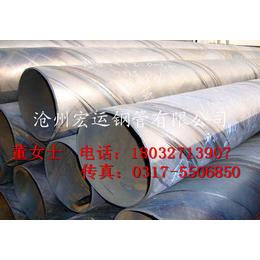 沧州螺旋管厂家供应219mm双面埋弧焊螺旋钢管 Q235B
