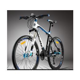 贝斯卡山地车自行车21速24速27速双碟刹禧马诺变速器变