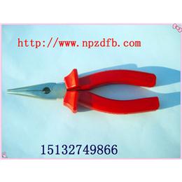 绝缘尖嘴钳工具供应6寸7寸8寸规格直销安防牌详情