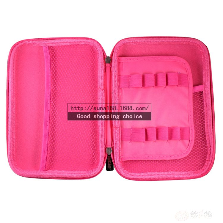 韩国文具袋 eva笔袋 大容量多功能笔袋 可爱创意铅笔盒