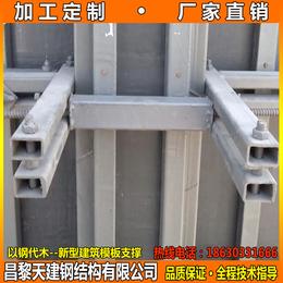湖南剪力墙模板支撑标准件不同组合钢模板加固