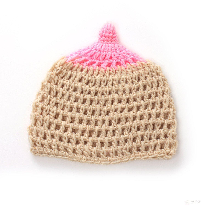 厂家手工编织婴儿毛线帽 宝宝帽子手工宝宝帽 儿童百搭针织帽
