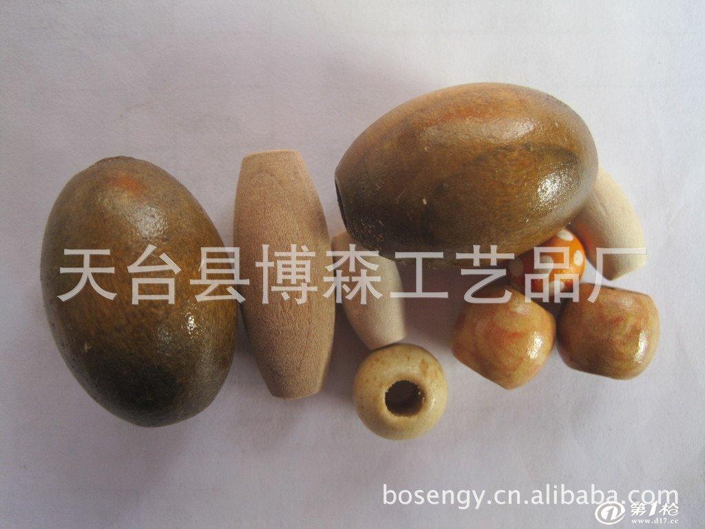 各种规格木珠工艺品