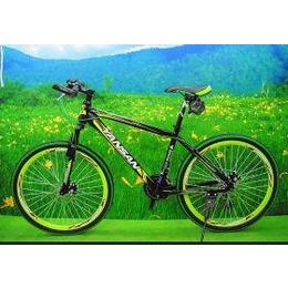 供应其他炎山骑士26寸山地彩配碟刹新款特价自行车