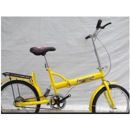 供应单折20寸新款特价折叠自行车