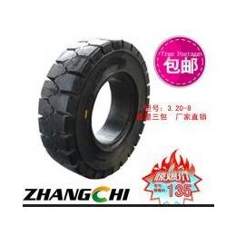厂家供应张驰橡胶3.50-5叉车电瓶车机械工程实心轮胎等