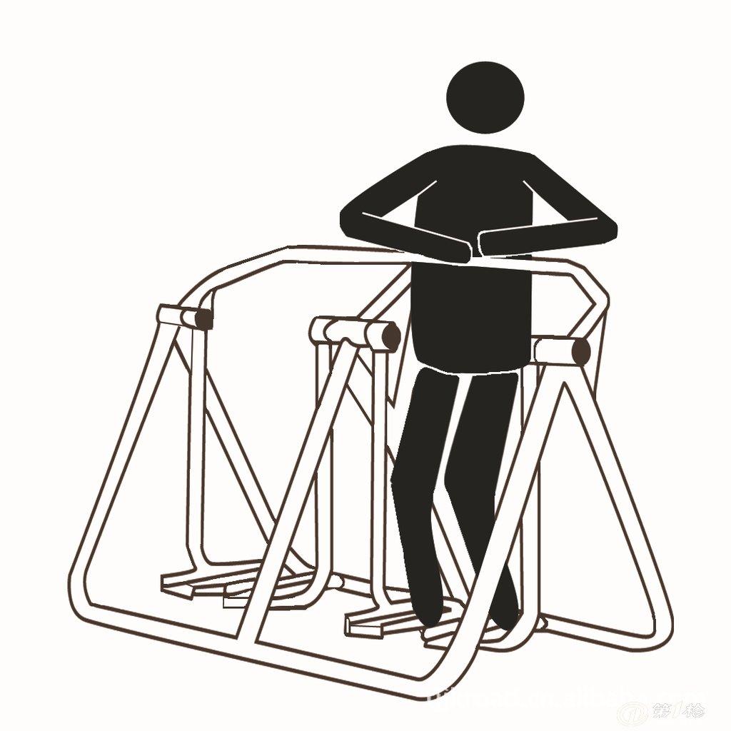 室外健身器材,路径系列