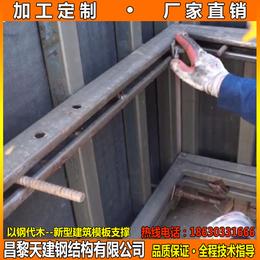 江苏厂家定制供应剪力墙模板支撑钢模板框架规格多