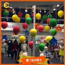 供应酒店酒吧餐厅KTV软装道具定制吊挂玻璃钢气球道具制作厂家缩略图