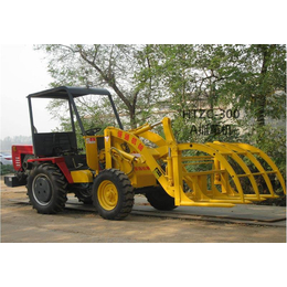HTZC300抓草机价格 小型柴油机式抓草机 老牌叉草机厂