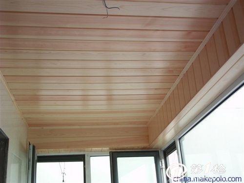 桑拿板也可用在卫生间吊顶