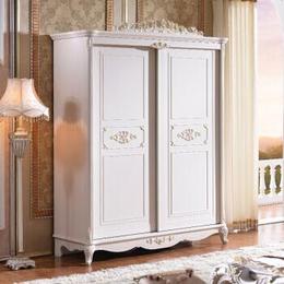 江西欧式古典板式家具 大容纳衣柜