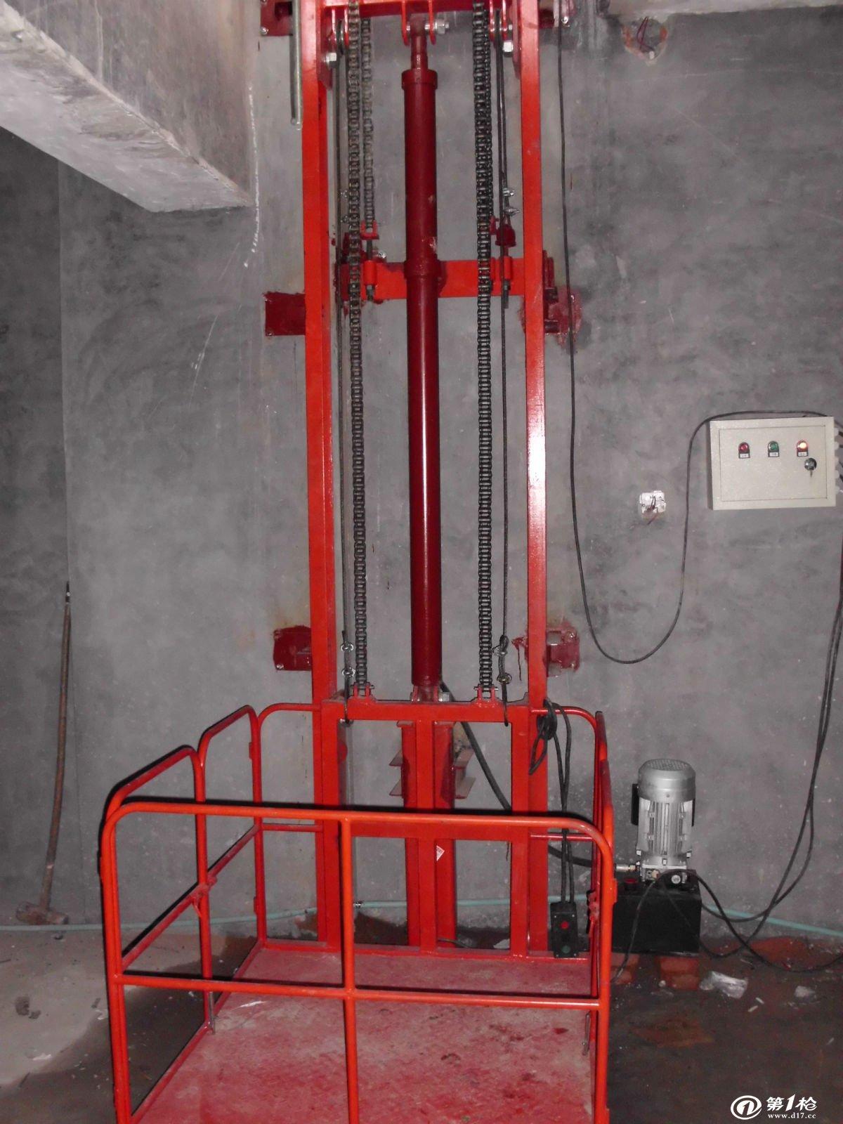 南通升降平台 升降货梯 导轨链条升降机