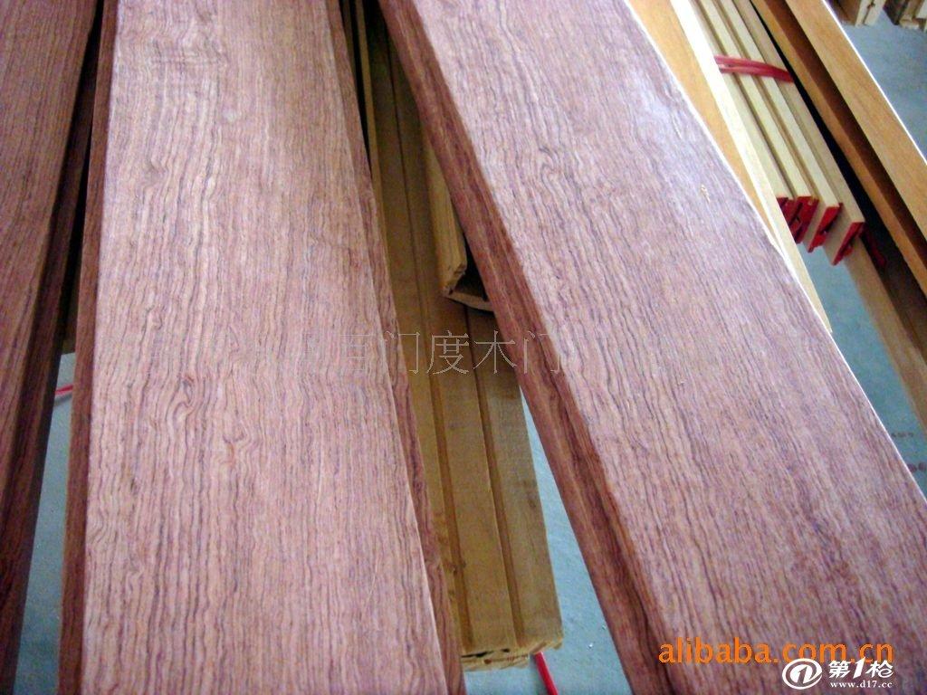贴皮木线,贴皮木线加工   我厂专业加工生产实木线条和贴皮线条,门套
