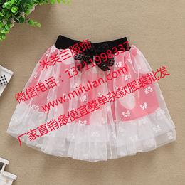 广宗厂家批发童装短裙公主裙关爱小孩健康成长的好衣服