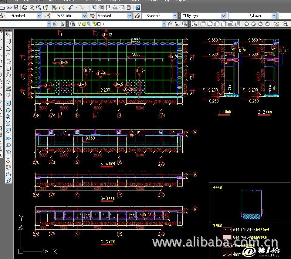 钢结构厂房详图设计及出加工清单