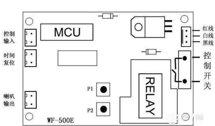 爆款投币电脑显示器时间控制板/可配一元专用投币器
