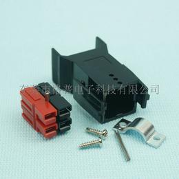 安德森插头PG控制器电池接头电动代步车连接器四极电源固定座