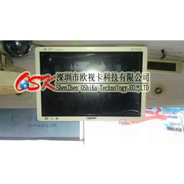 欧视卡厂家直销19寸固定式车载显示器 19寸壁挂式客车显示器