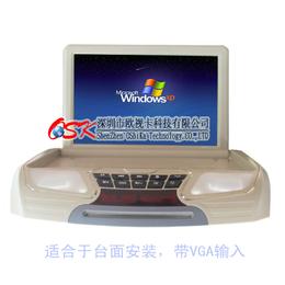 季风岛汽车载10寸12寸高清吸顶显示屏 多媒体 DVD显示器