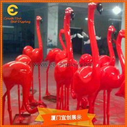 供应商场餐厅会所开业玻璃钢雕塑形象公仔定制生产厂家缩略图