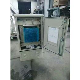 SMC144芯三网合一光缆交接箱 SMC交接箱图片