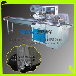 佛山收银纸自动包装机电工胶带套膜机选速科SK-350W