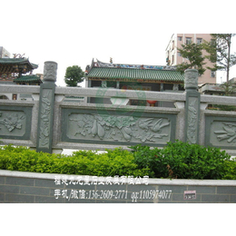 优质石栏杆 河道简易石栏杆 寺庙石雕栏杆