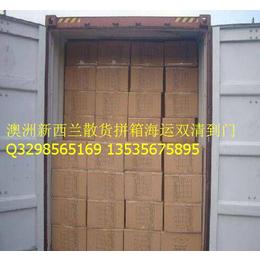深圳专业欧洲清关门到门 海运散货拼箱