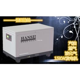 HS15T 汽油发电机组静音15千瓦