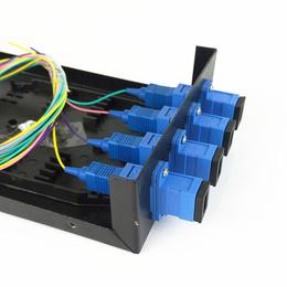 4口 SC光纤终端盒 光纤接线盒接续盒 光缆终端盒