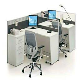 F型双人位办公桌 定制销售