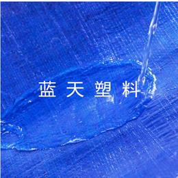 塑料防雨布系列-蓝色车篷布