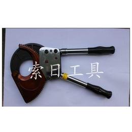 索日工具 棘轮式J100铠装铜铝电缆钳 电线剪 断线钳