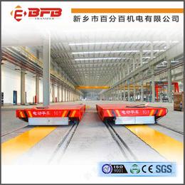 供应16吨拉加工qy8千亿国际滑触线轨道平车价格