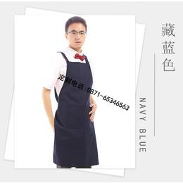 霆尊男女通用广告围裙定做可加印logo