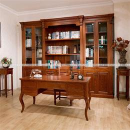 实木书房家具系列接受定制
