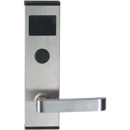 供应304不锈钢一体冲压公寓智能门锁系统 商务宾馆IC卡门锁