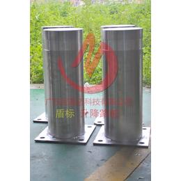 固定路桩 固定式不锈钢柱 配套自动升降柱安装使用