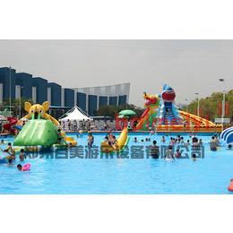 有趣好玩 大型水上充气滑梯 亲子欢乐园盛世开园