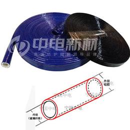 煤气燃气工业管道线缆线路保护绝缘套管硅胶玻纤套管防火隔热套管