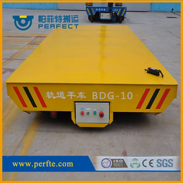 搬运建材电动过跨车 电动平板转运车