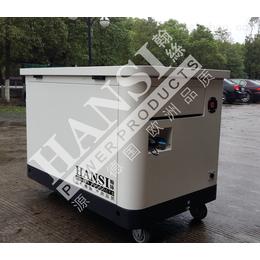 HANSI多燃料380V静音发电机组15千瓦