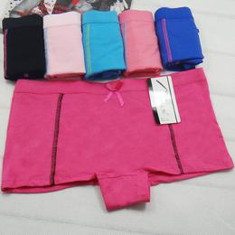 厂家直销全棉女式平角裤 外贸货源女式内裤 性感女士内裤批发