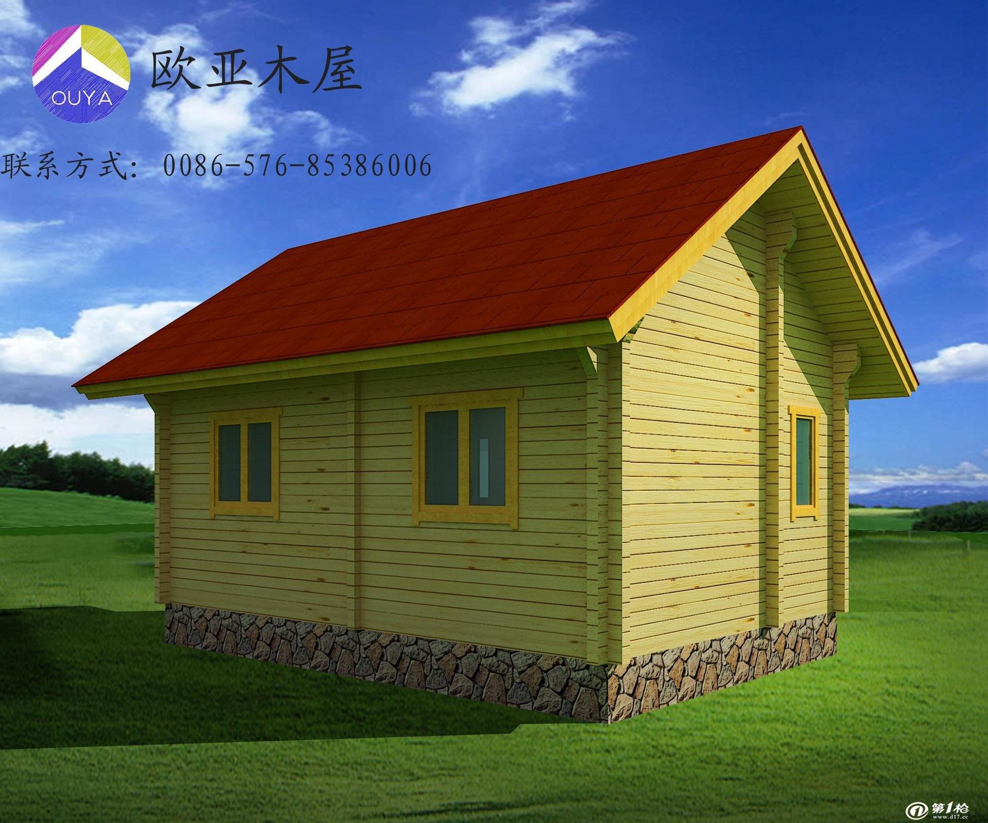 木结构房屋欧美风别墅