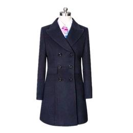 秋冬女装羊绒呢子大衣中长款毛呢外套修身显瘦收腰女