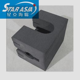 供应高密度海绵内托加工 多功能防震海绵盒 海绵内衬