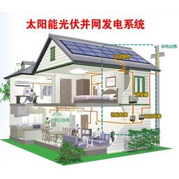 亿清佳华屋顶光伏太阳能发电结构简单发电效率高